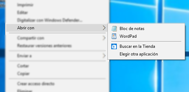 Abrir-con-en-Windows-10