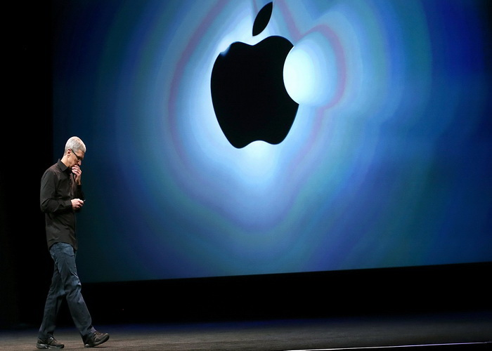 El iPhone de Apple se derrumba